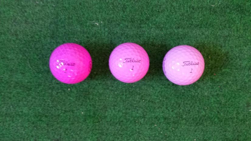 Yellow Balls Golf Balls Team Titleist