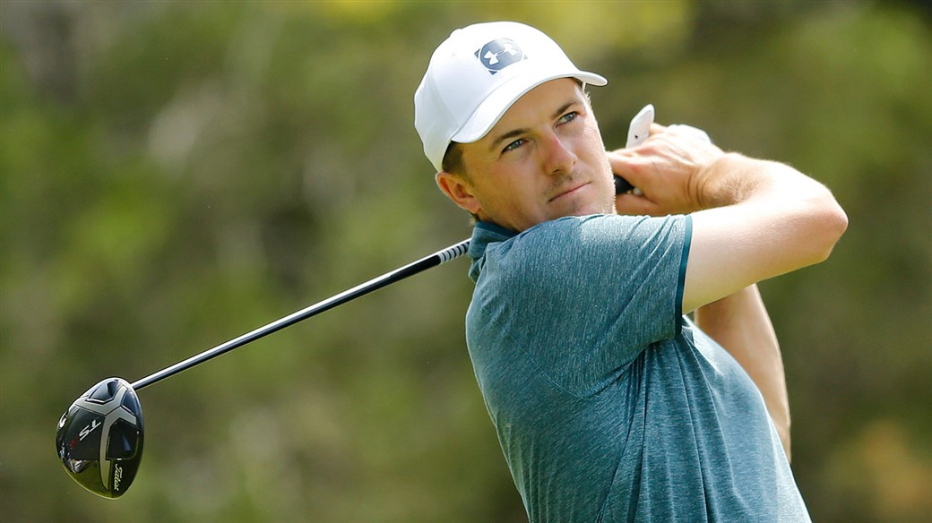 Jordan Spieth Tees off at the Valero Texas Open with a Titleist TS3 driver