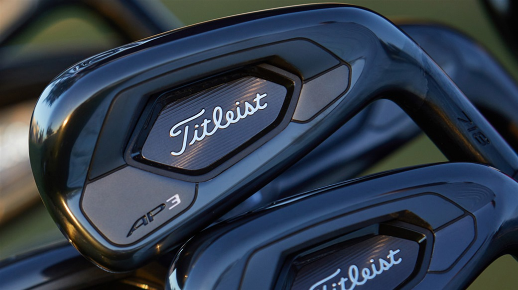 Titleist Introduces 718 AP3 and AP2 Irons in Limited Black