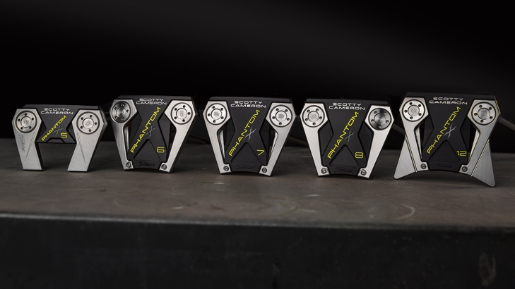 Scotty Cameron Phantom X Putters 2019 Series Sole View