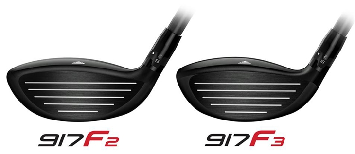 Titleist 917 fairways face height