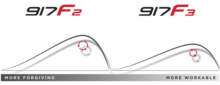 Titleist 917 fairways flight